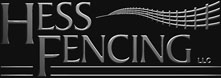Hess Fencing serving the Miami Valley of Ohio and near areas